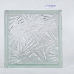 Gạch kính Indonesia trắng Bông Tuyết MTGK 00103-003
