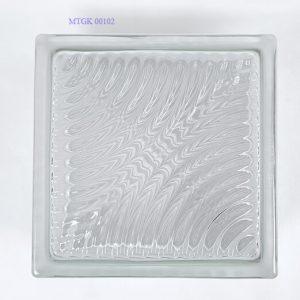 Gạch kính Indonesia trắng bro MTGK 00102-008