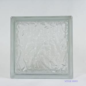 Gạch kính Indonesia trắng đục mờ MTGK 00093-001