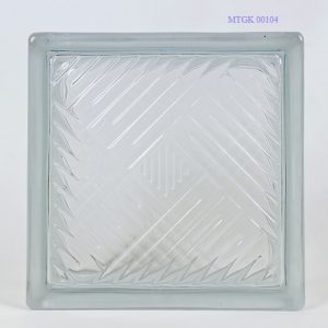 Gạch kính indonesia trắng MTGK 00104-002