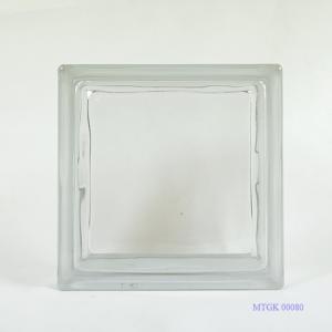 Gạch kính indonesia trắng trơn MTGK 00080-001
