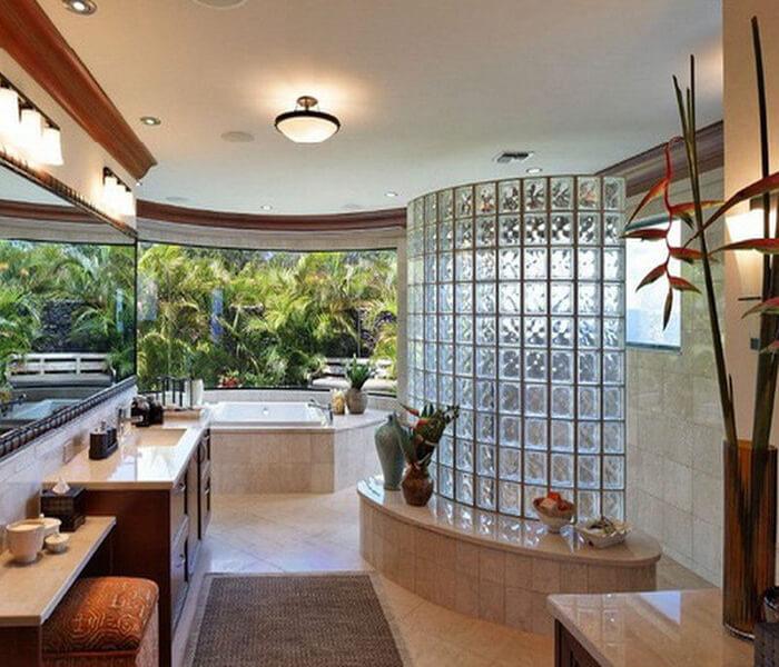 Tinh năng, hướng dẫn thi công gạch kính lấy sáng phòng tắm