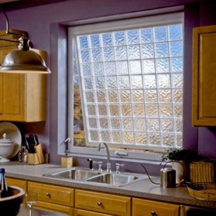 3 vị trí không gian tuyệt vời của gạch kính ốp bếp