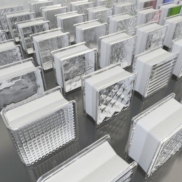 """Gạch kính 200x200 """"hot trend"""" của thế giới vật liệu xây dựng"""