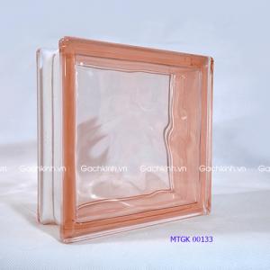 Gạch kính Indonesia màu hồng MTGK 00133-2