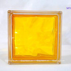 Gạch kính Indonesia màu vàng tươi MTGK 00134-02